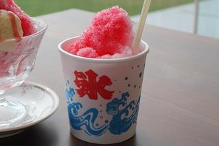 かき氷(テイクアウト向け)250円<br /> ※写真はイメージです。